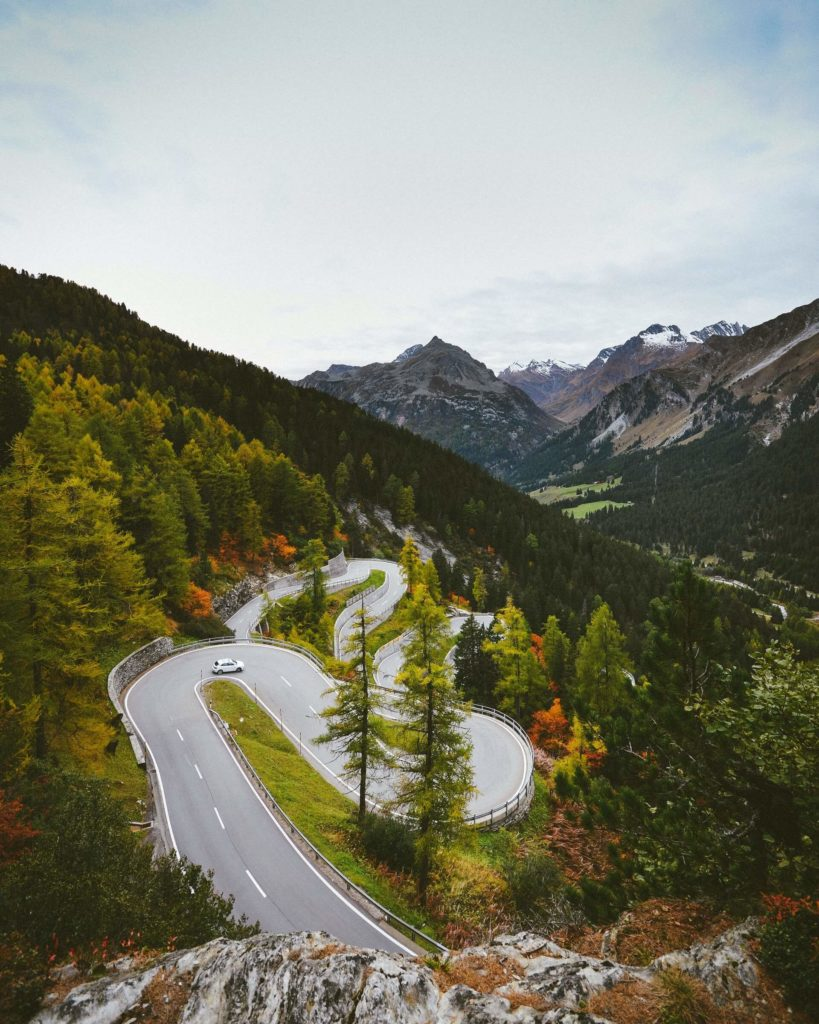 Maloja pass road trip