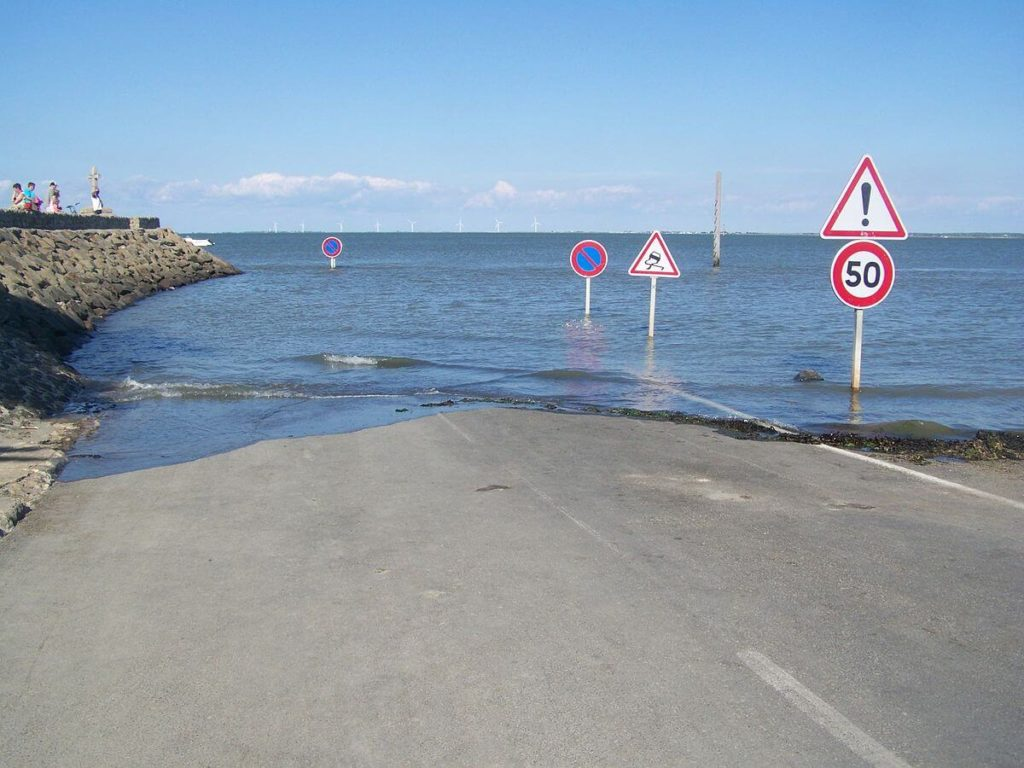 Passage du Gois, a nice place in French