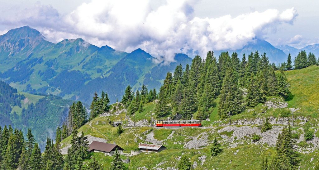 Train to Jungfrau