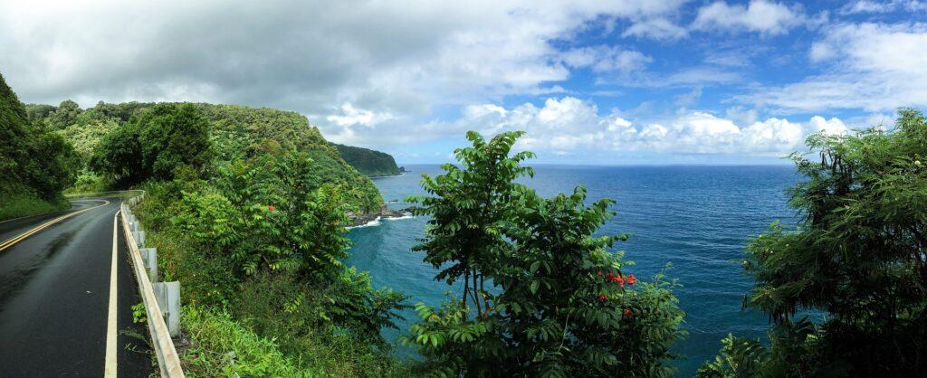 Hana road in Hawai