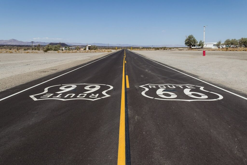Route 66 in the USA, one of the best road trip in US