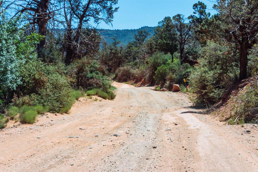 Schnebly Hill Road in Arizona