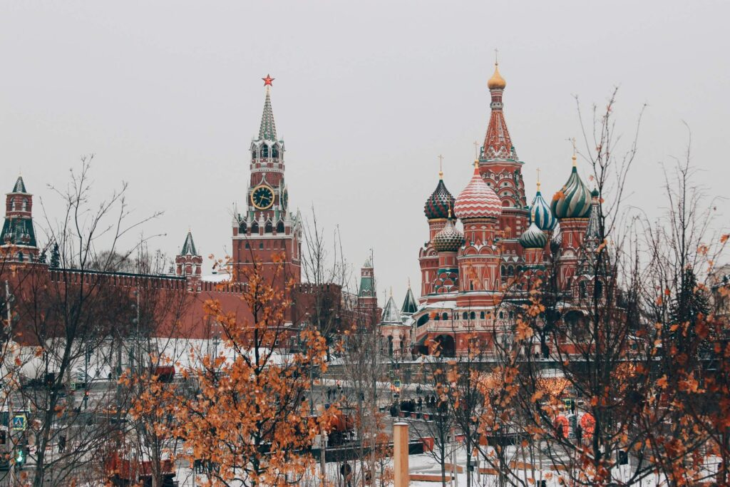 Photo of Kremlin in Russia