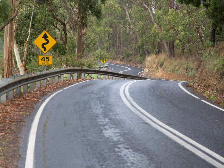 Corkscrew Road for cyclists