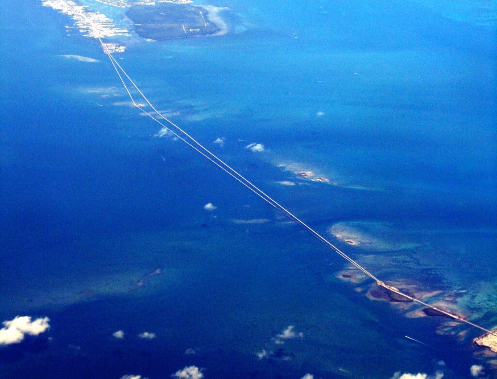 Seven Miles Bridge in Key West