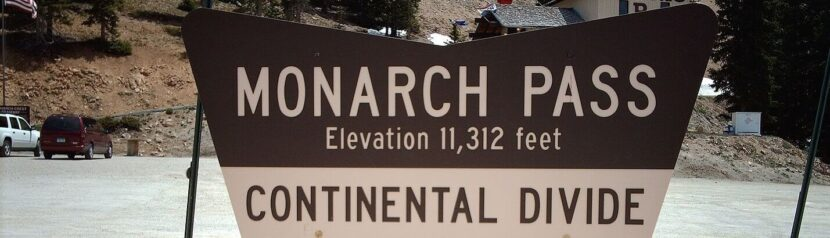 Monatch Pass in Colorado
