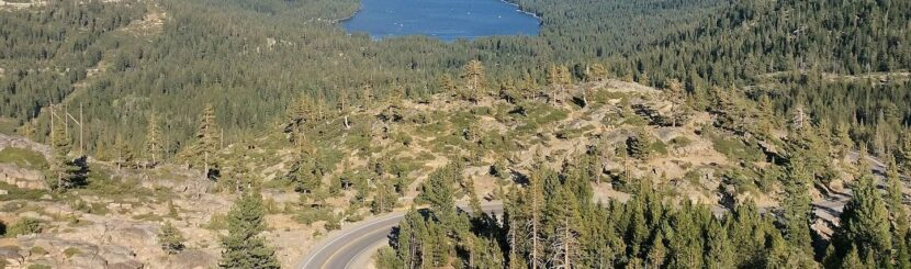 Donner pass view