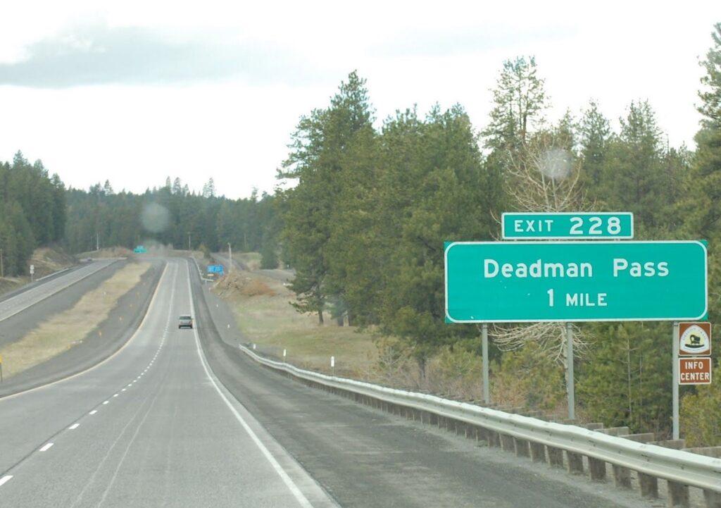 Deadman Pass in Oregon